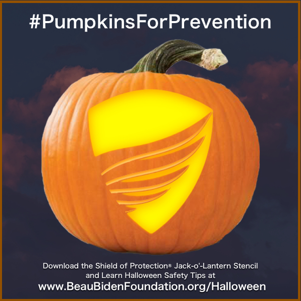 Shield of Protection® Jack-o'-Lantern Stencil